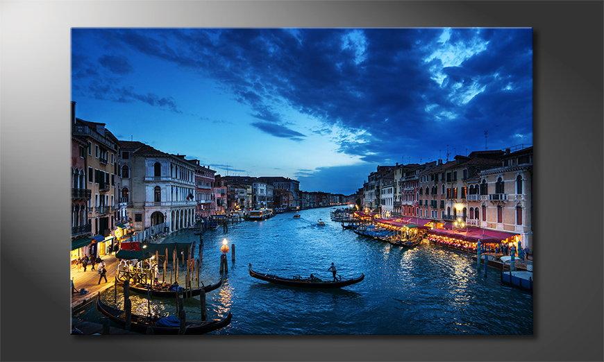 Le tableau imprimé Venice Sunset