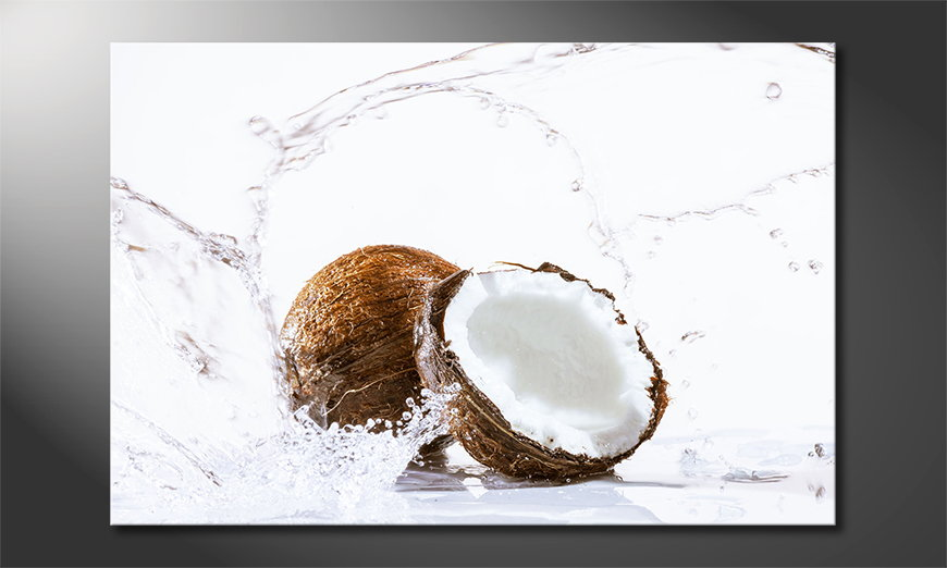 Le tableau moderne Coconut