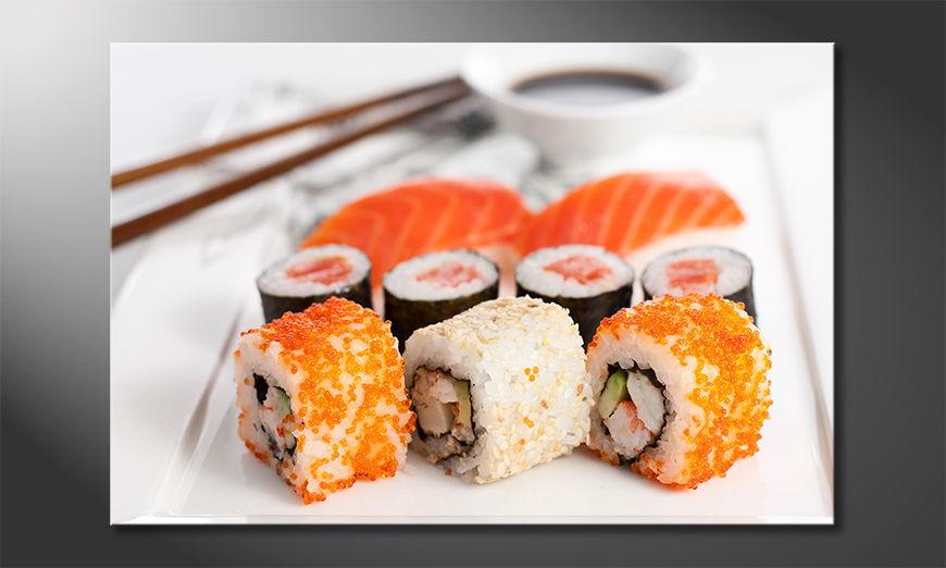 Le tableau moderne Sushi