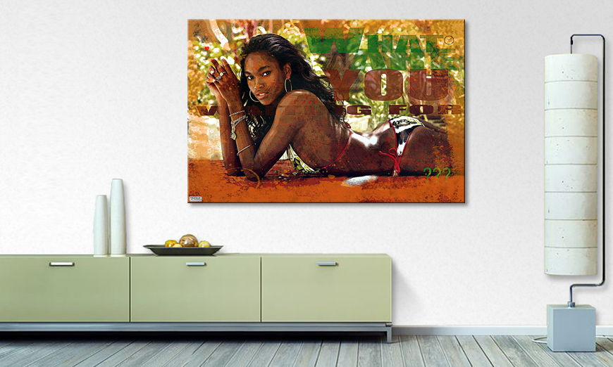 Le tableau mural African Beauty