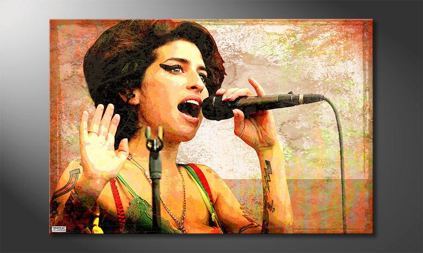 Le tableau mural Amy