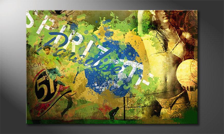 Le tableau mural Brazil