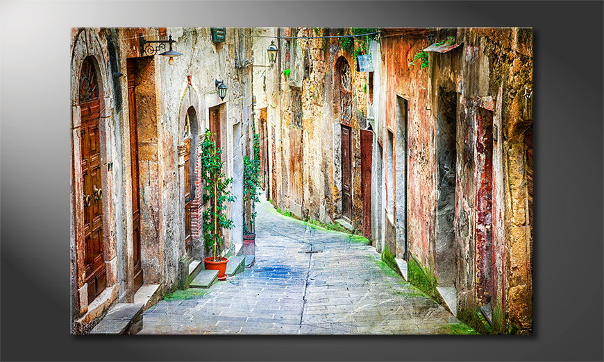 Le tableau mural Charming Alley