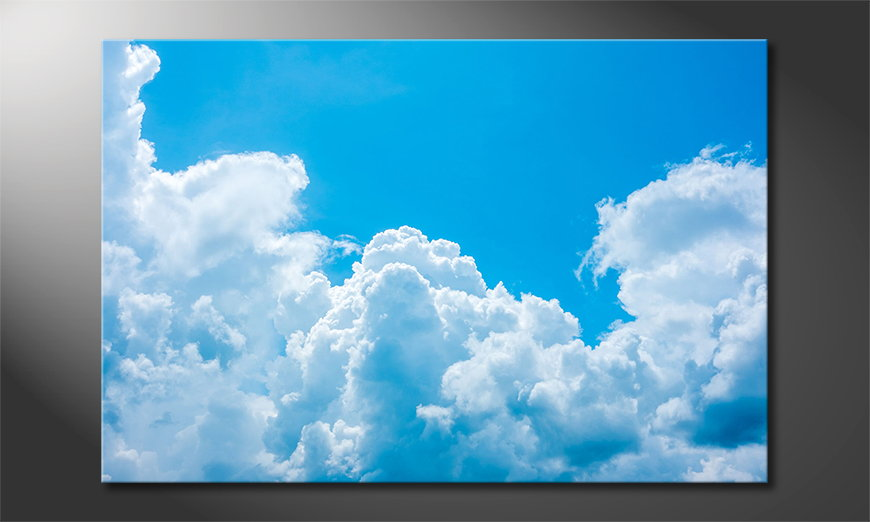 Le tableau mural Clouds