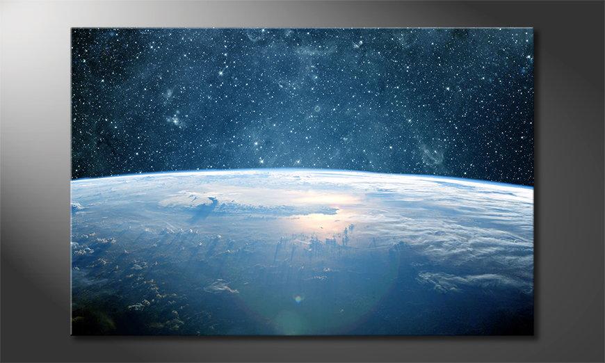 Le tableau mural Earth Planet I