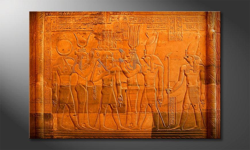 Le tableau mural Egypt
