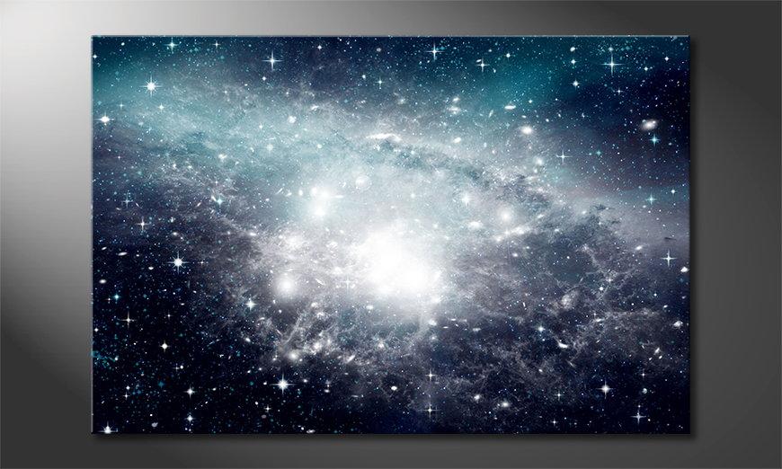 Le tableau mural Galaxy