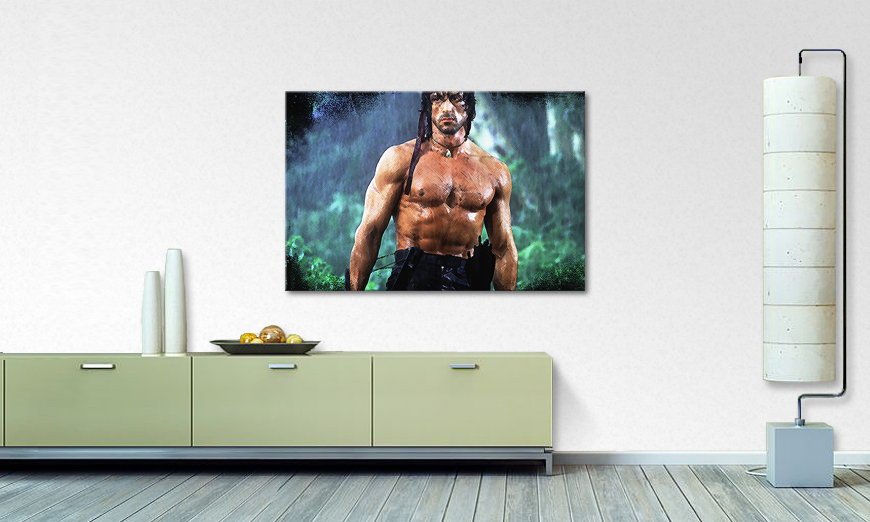 Le tableau mural Instant Rambo