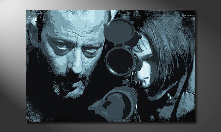 Le tableau mural Léon et Mathilda