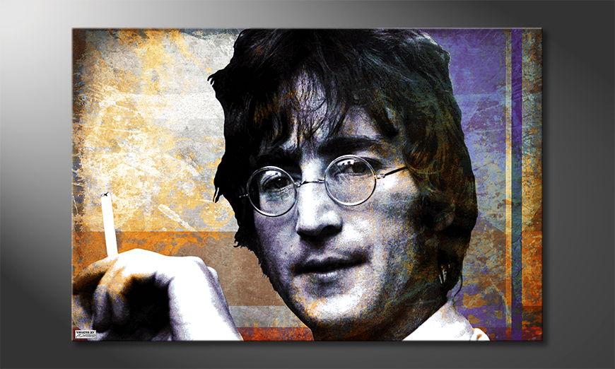 Le tableau mural Lennon