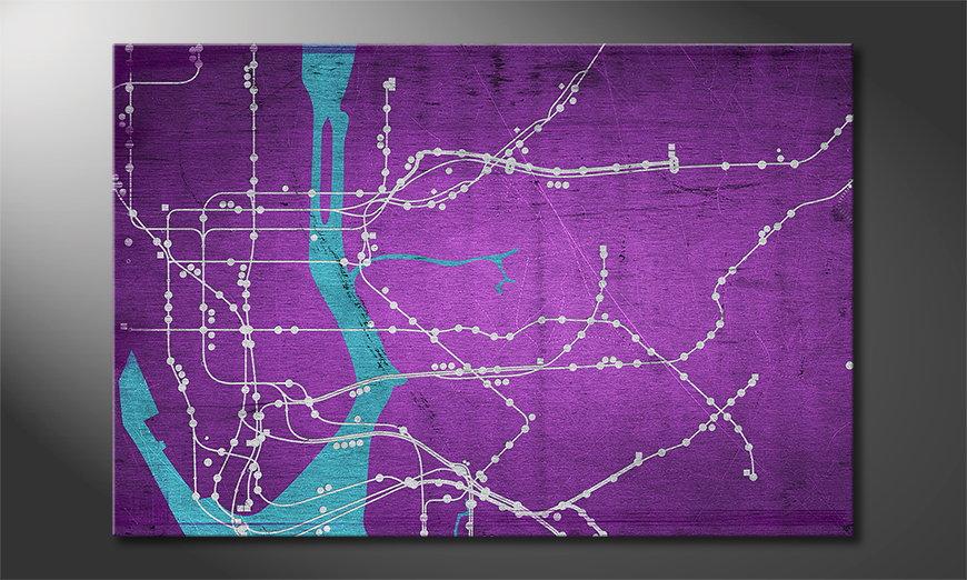 Le tableau mural New YorkMetro