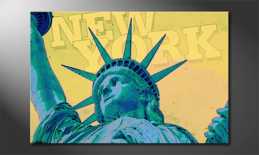 Le tableau mural New York