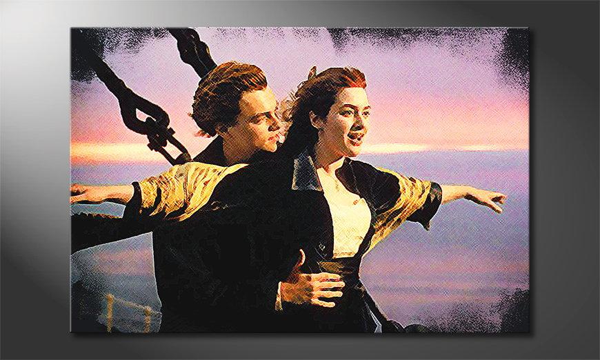 Le tableau mural moderne Titanic