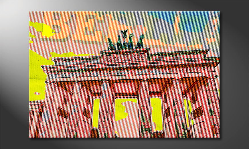 L'impression sur toile Berlin