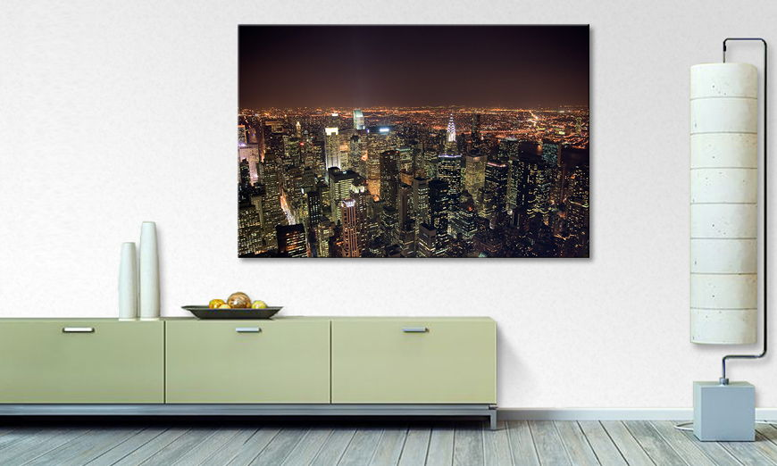 Limpression sur toile Big Apple