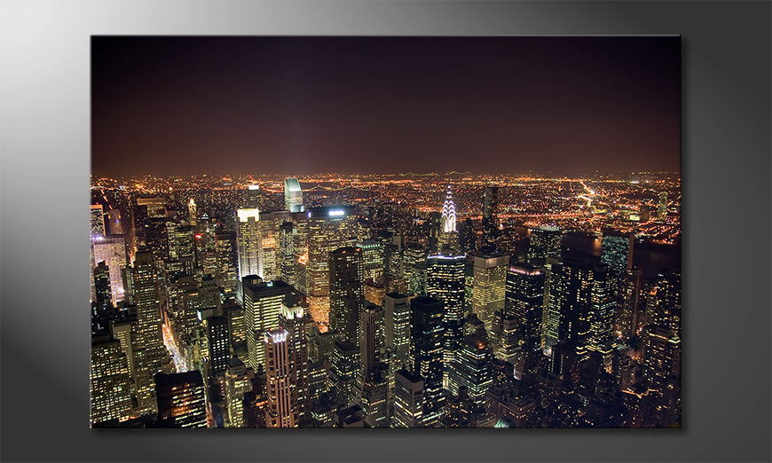 L'impression sur toile Big Apple