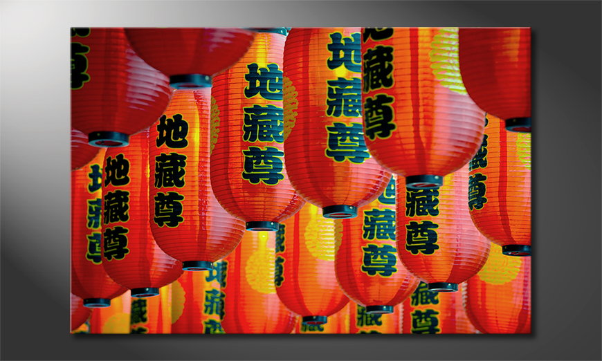 L'impression sur toile Chinatown