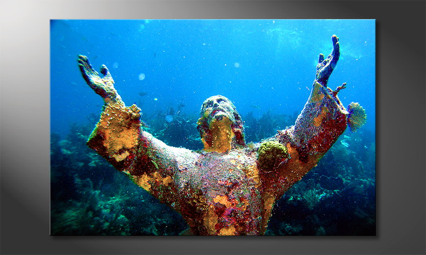 Limpression-sur-toile-Christ-of-�the-�Abyss