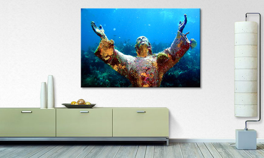 Limpression sur toile Christ of �the �Abyss