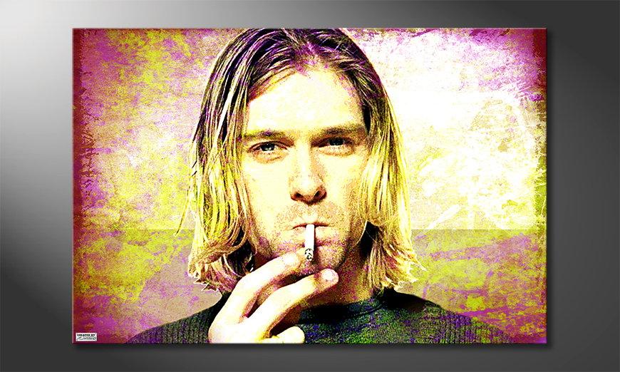L'impression sur toile Kurt