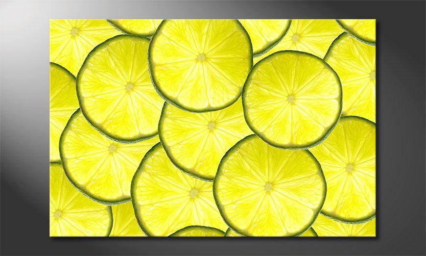 L'impression sur toile Limes