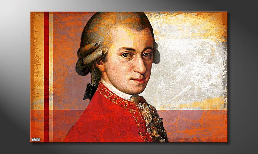 L'impression sur toile Mozart