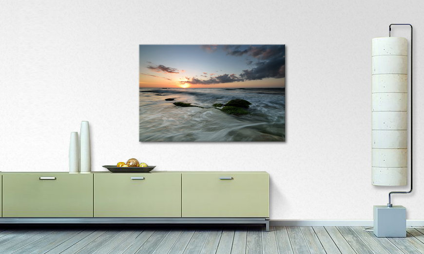 Limpression sur toile Ocean Sunset