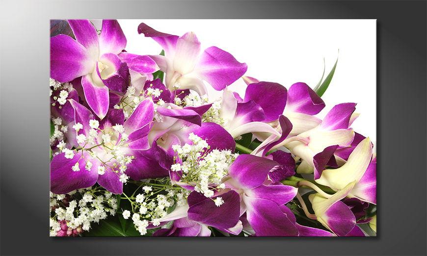 L'impression sur toile OrchidBlossoms