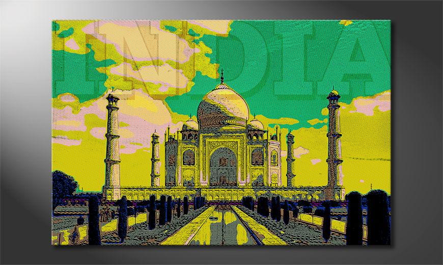 L'impression sur toile Taj Mahal