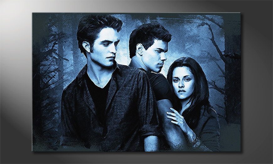 L'impression sur toile moderne Twilight