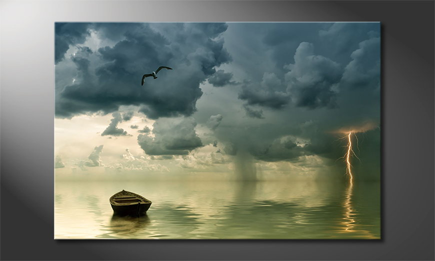 Lonely-Boat-Tableau