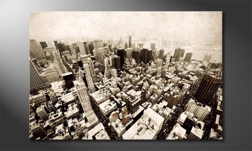 New York Vintage Tableau