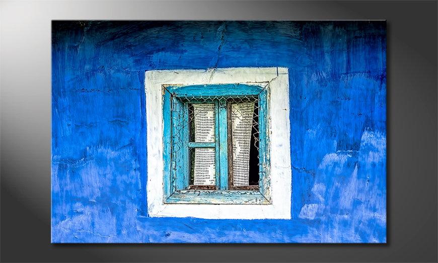 Old Window Tableau