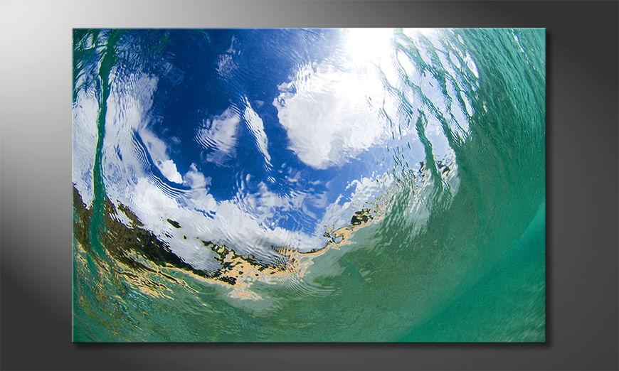 Underwater Sky Tableau