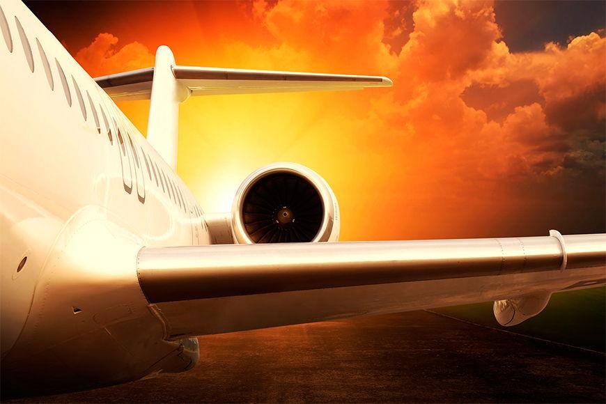 Intissé déco Airplane 120x80cm et plus