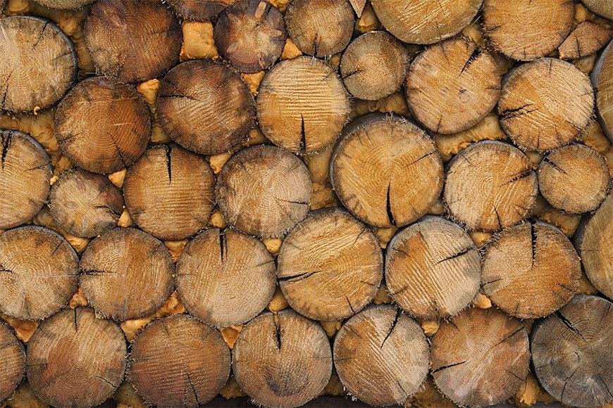 Intissé déco Wood Wall 120x80cm et plus