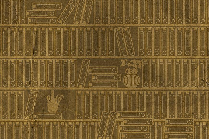 Papier intissé Bibliothèque I 120x80cm et plus