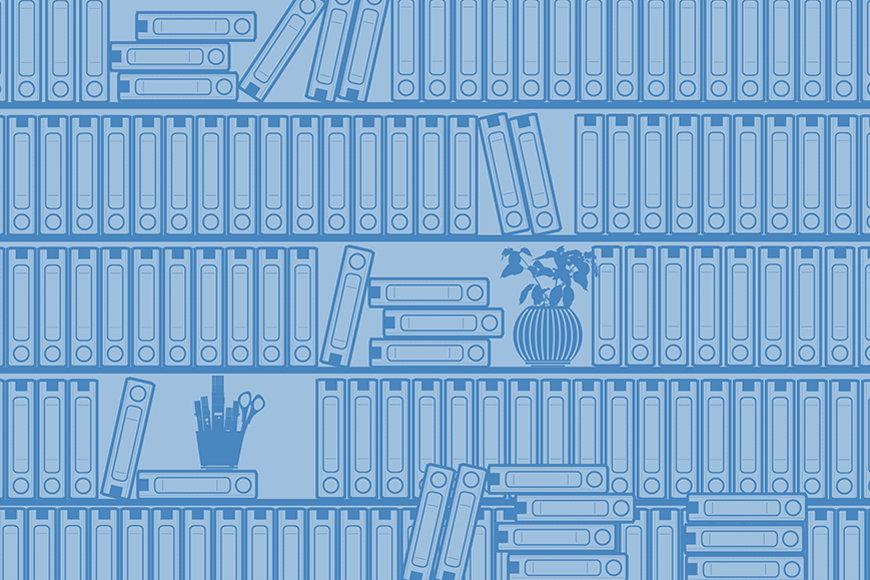 Papier intissé Bibliothèque II 120x80cm et plus