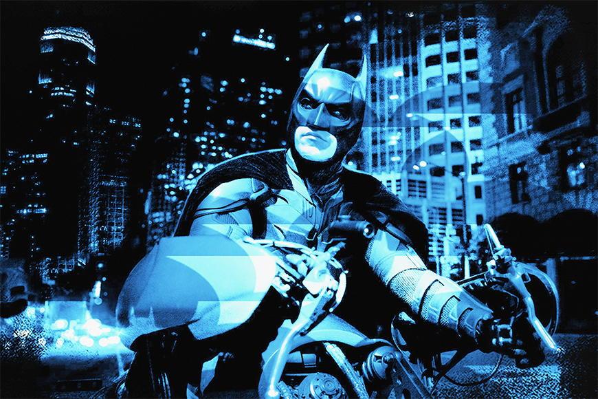 Papier peint Batman 120x80cm et plus
