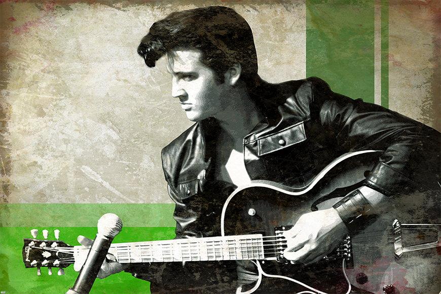Papier peint Elvis 120x80cm et plus