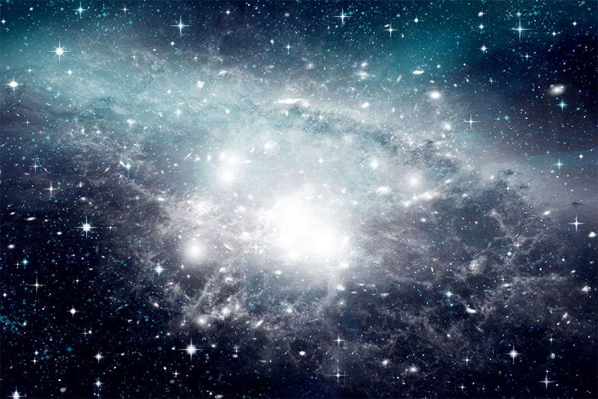 Papier peint Notre galaxie 120x80cm et plus