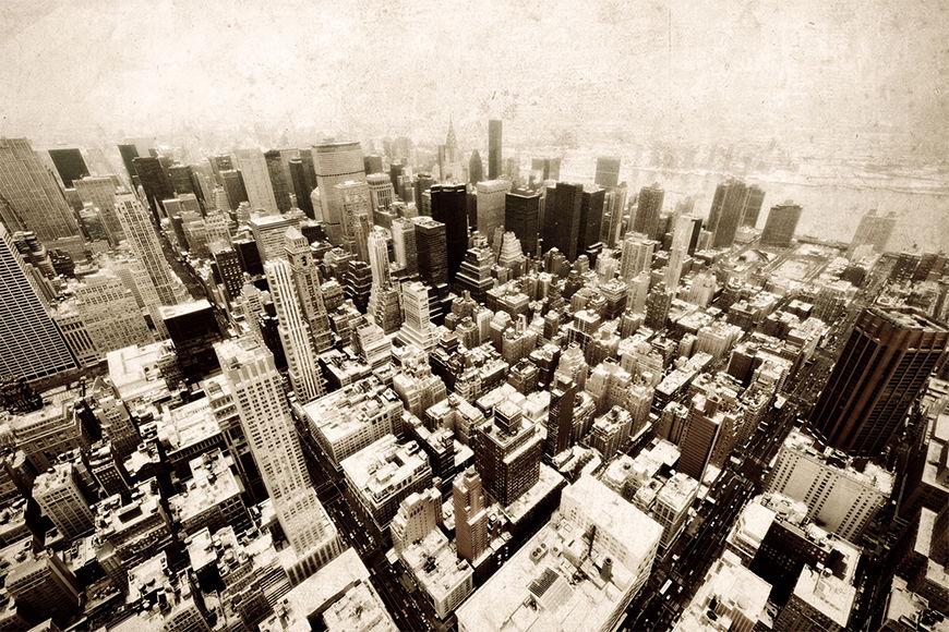 Papier peint Old New York 120x80cm et plus