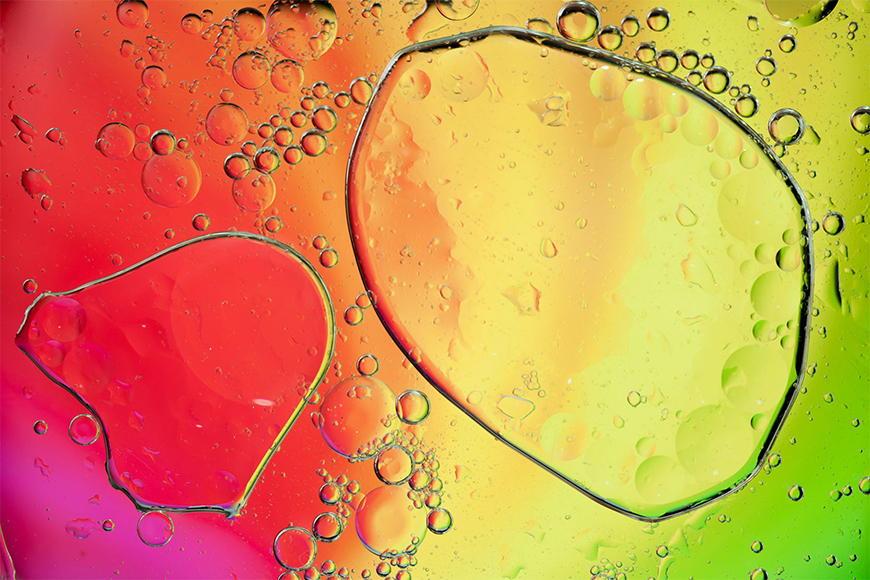 Papier peint Rainbowdrops 120x80cm et plus