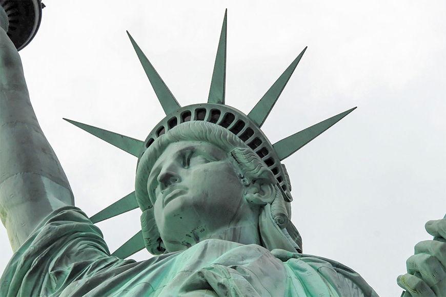 Papier peint Statue de la liberté 120x80cm et plus
