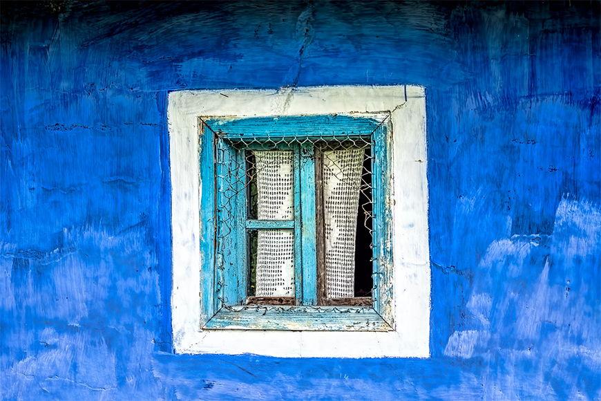 Papier peint Vieille fenêtre 120x80cm et plus