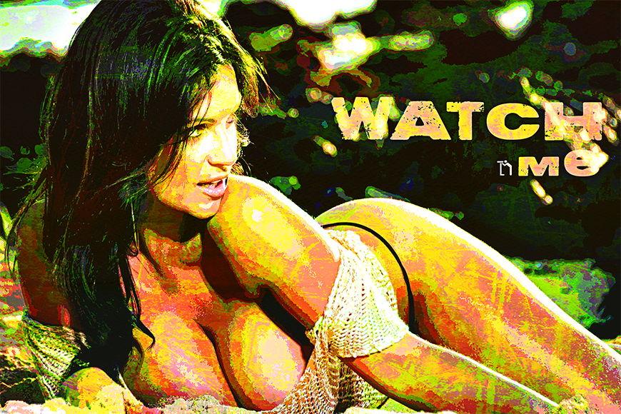 Papier peint Watch Me 120x80cm et plus